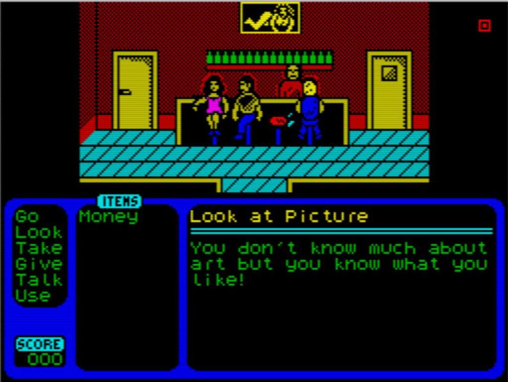 ZX Larry - Screen