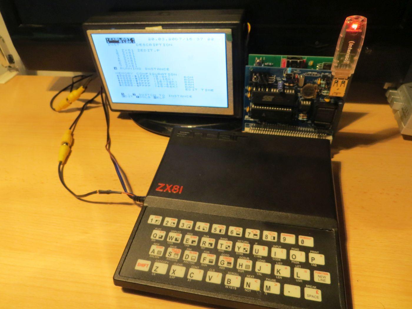 ZX81 mit ZXBlast