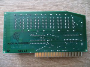 AIIE 80COL/64K Memory Expansion - Rückseite