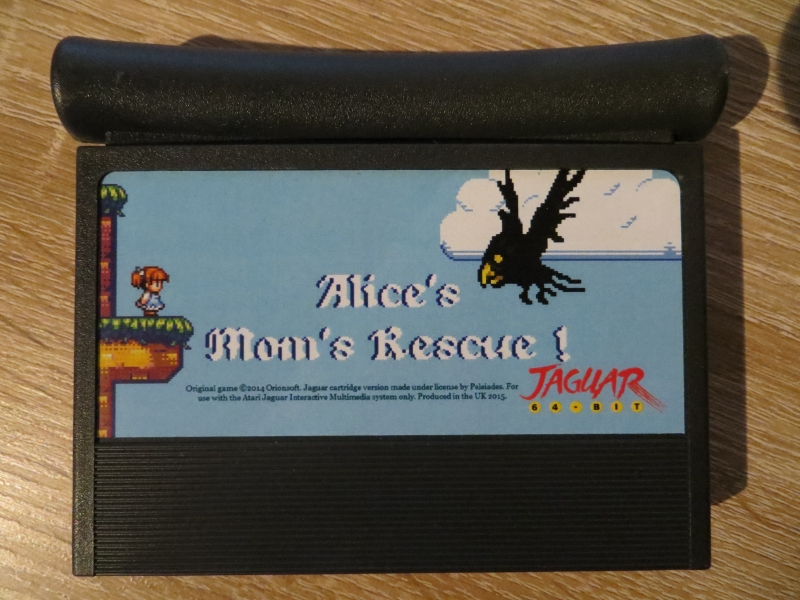 Alice's Mom's Rescue - Cartridge