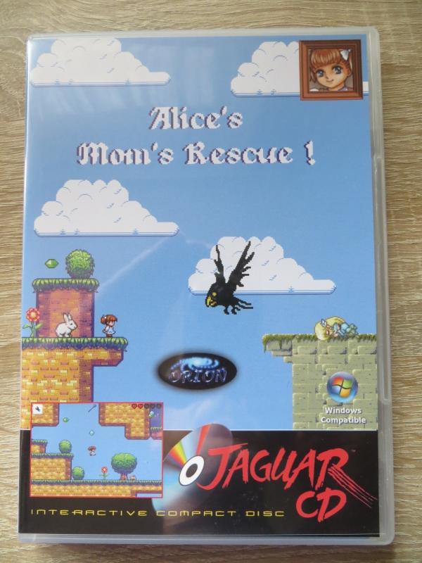 Alice's Mom's Rescue - Vorderseite