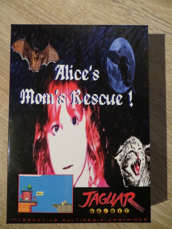 Alice's Mom's Rescue - Vorderseite