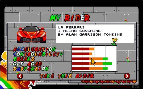 Anarcho Ride - Fahrer Auswahl