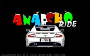 Anarcho Ride - Titel Screen