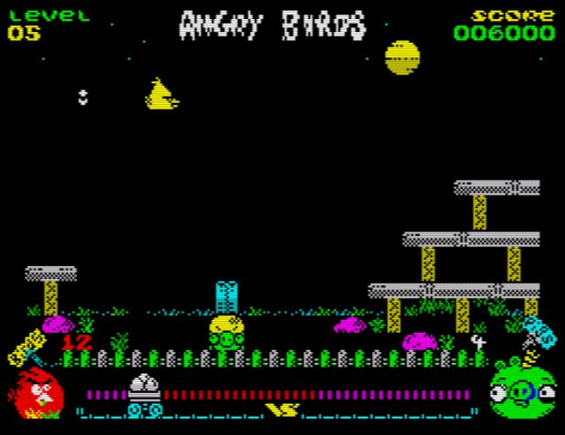Angry Birds (Opposition) - Level 5