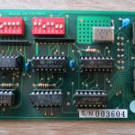 Appel IIe - Super Serial Card - linke Seite