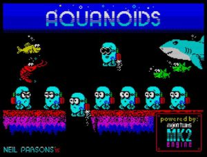 Aquanoids - Ladescreen