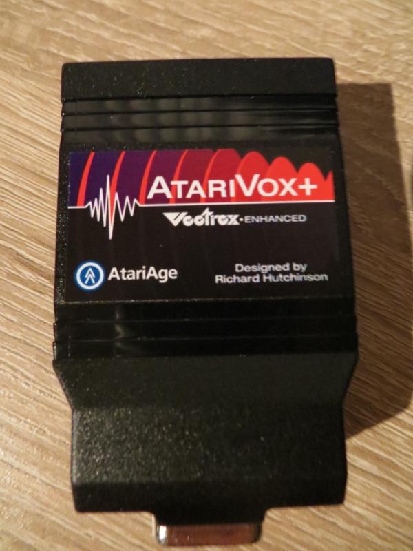 AtariVox - Oberseite