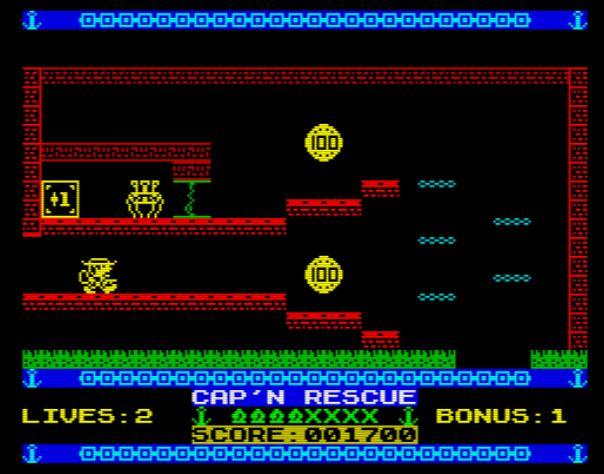 Cap'n Rescue Reprisal - Screen