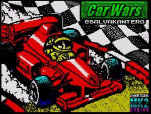 Car Wars 128K - Ladescreen