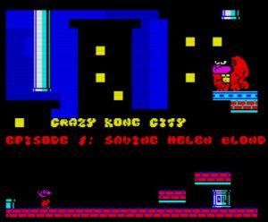 Carzy Kong City - Episode 1 - Titelscreen
