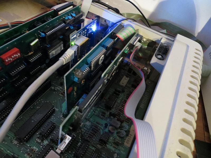CFFA3000 - eingebaut