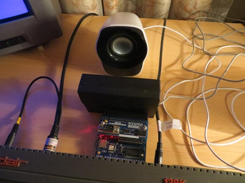 Cheetah SpecDrum - Versuchsaufbau - mit DivSD