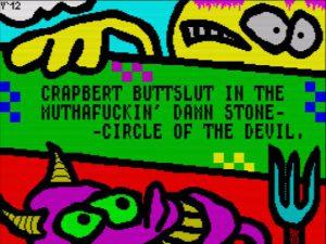 Crapbert Buttslut - Ladescreen