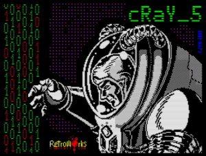 Cray 5 - Ladebildschirm