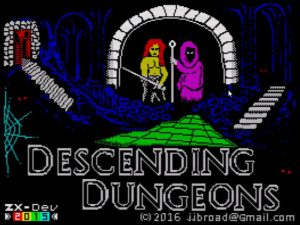 Descending Dungeons - Ladescreen