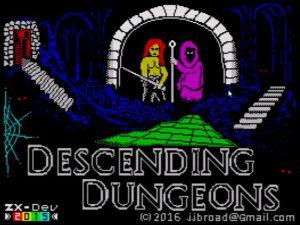 Descending Dungeons - Ladescreen