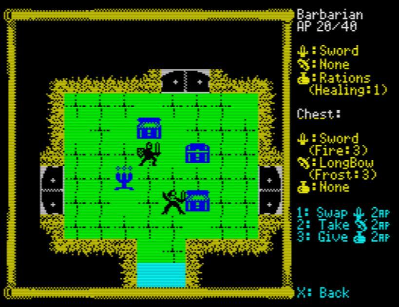 Descending Dungeons - Schatz durchsuchen