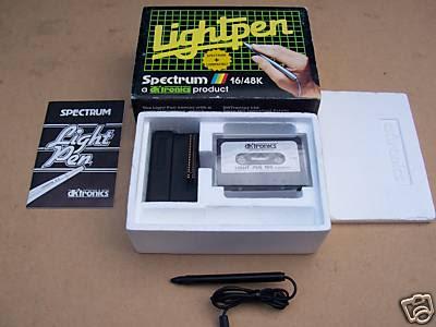 dk'tronics Lightpen - normales Interface
