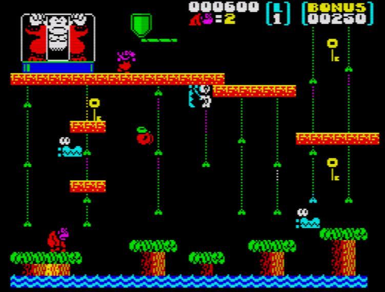 Donkey Kong Jr - Screen