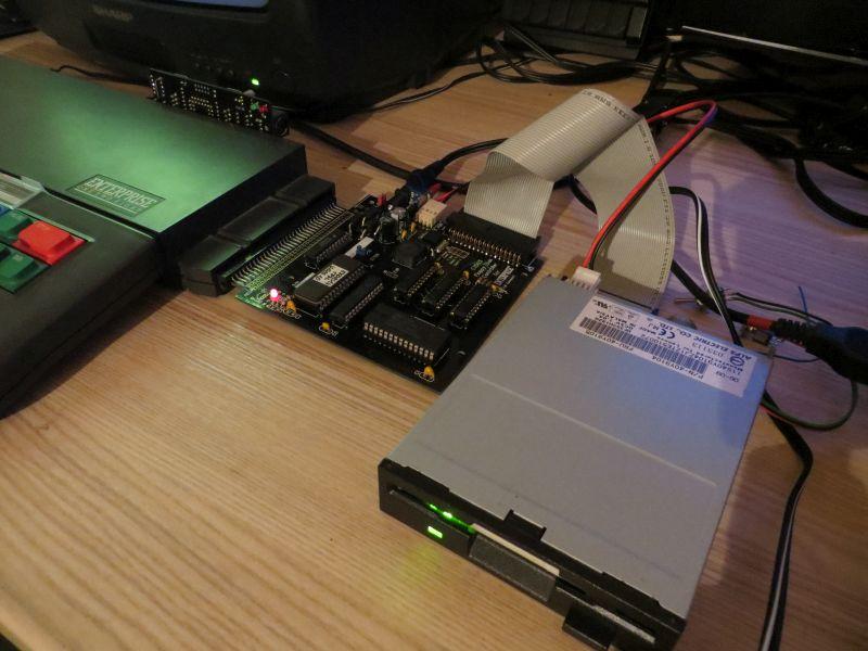 EXDOS Interface - angeschlossen