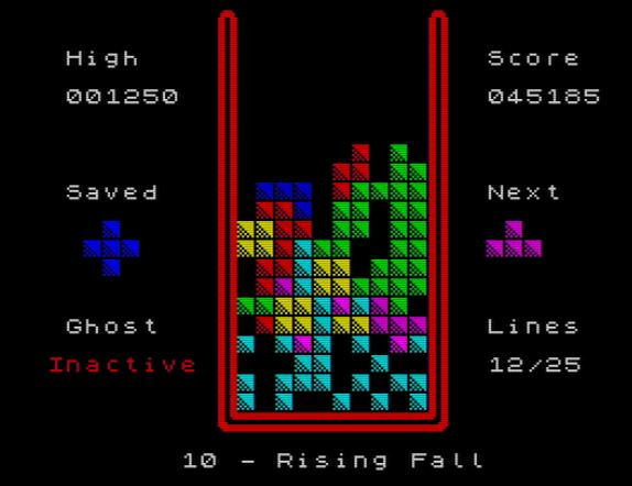 Falling Blocks - Level 10