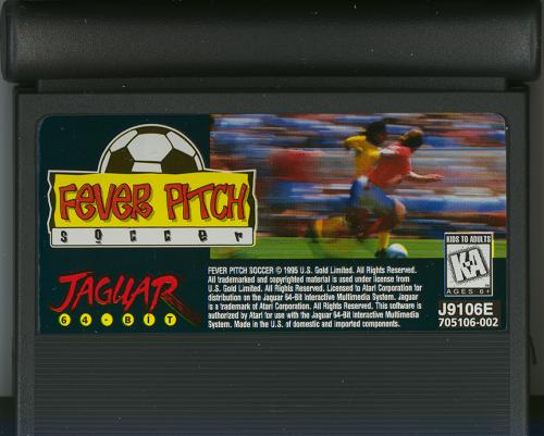 Fever Pitch Soccer - Cartridge