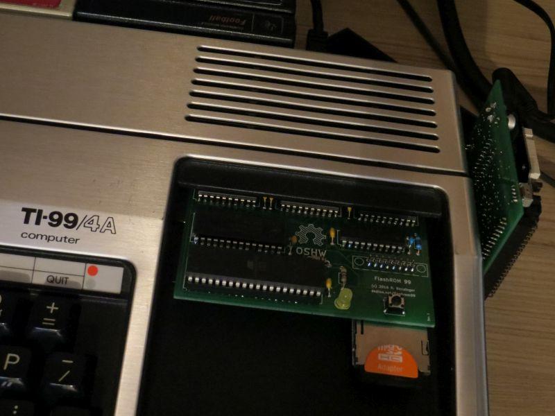 TI99 mit FlashROM 99