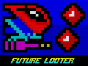 Future Looter - Ladescreen
