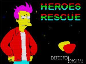 Heroes Rescue - Ladebildschirm