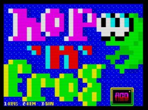 Hop 'n'Frog - Ladescreen