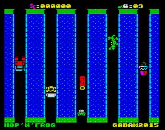 Hop 'n'Frog - Screen