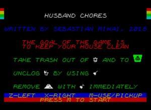 Husband Chores