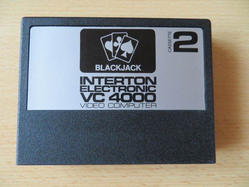 Interton VC4000 02 Blackjack