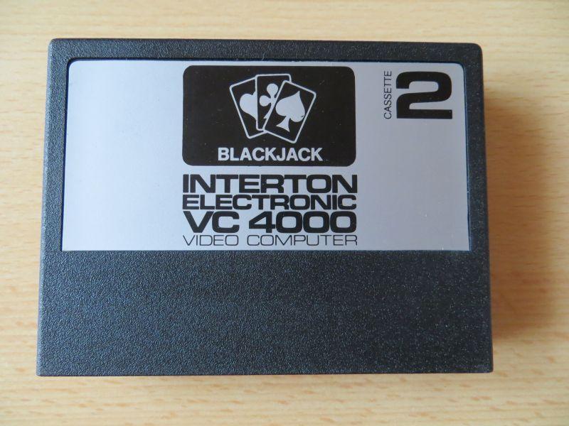 Interton VC4000 02 Blackjack