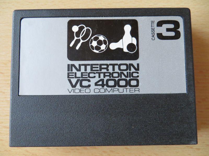 Interton VC4000 03 Ballspiel - Cartridge
