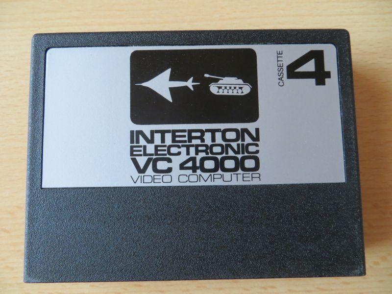 Interton VC4000 04 Panzerschlacht_Luftkampf - Cartridge