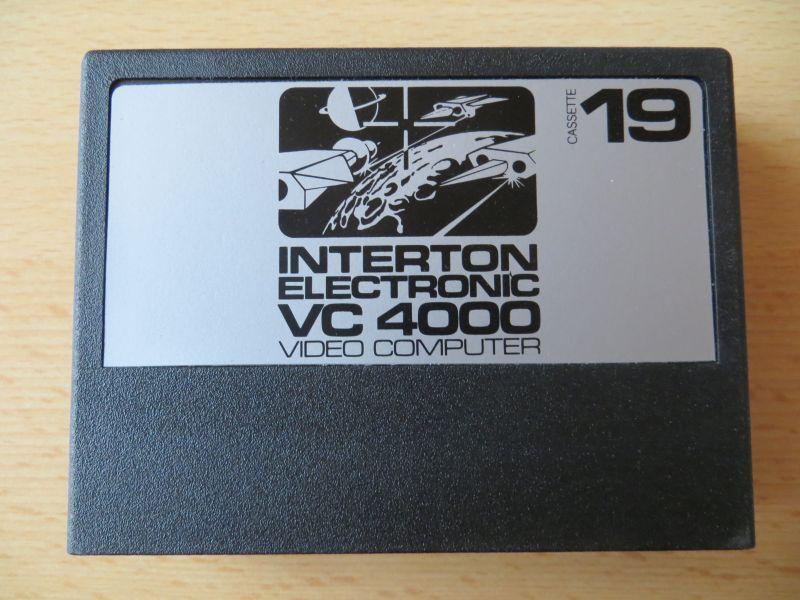 Interton VC4000 19 Krieg im Weltraum - Cartridge