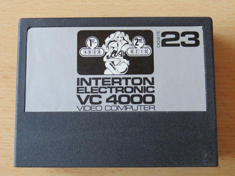 Interton VC4000 23 Flipper - Cartridge