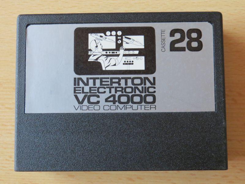 Interton VC4000 28 Cockpit - Cartridge