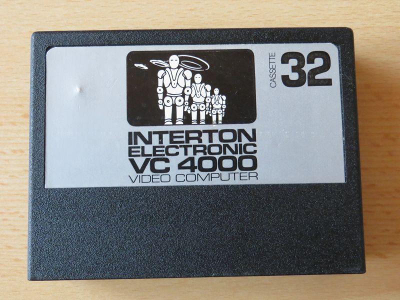 Interton VC4000 32 Weltrauminvasoren - Cartridge