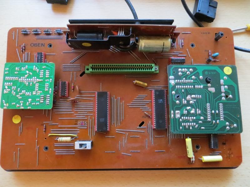 Interton VC4000 - Platine