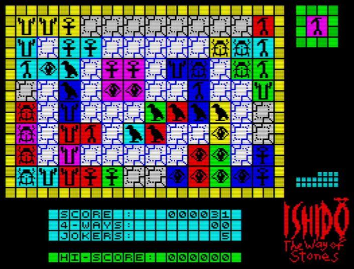 Ishido The Way of Stones - Screen