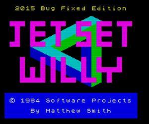 Jet Set Willy 2015 - neuer Ladescreen