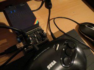 K-Mouse 2016-LP Sega Gamepad und USB Maus