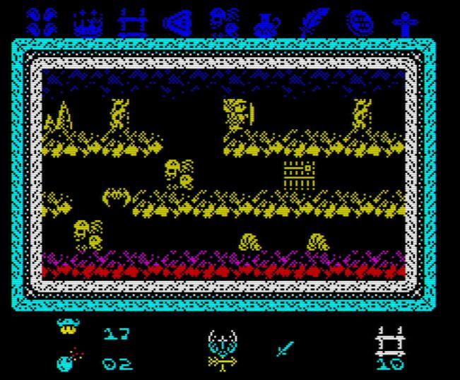 Knightmare 2 ZX - Screen 2