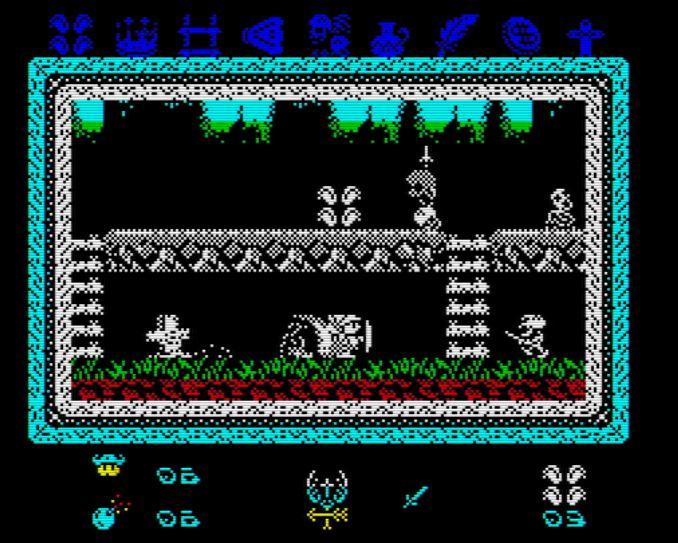 Knightmare 2 ZX - Screen
