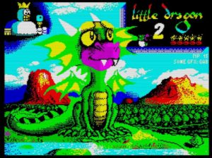 Little Dragon 2 - Ladescreen