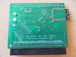 M4 Board - Rückseite