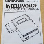 Matell Intellivision - IntelliVoice - Manual